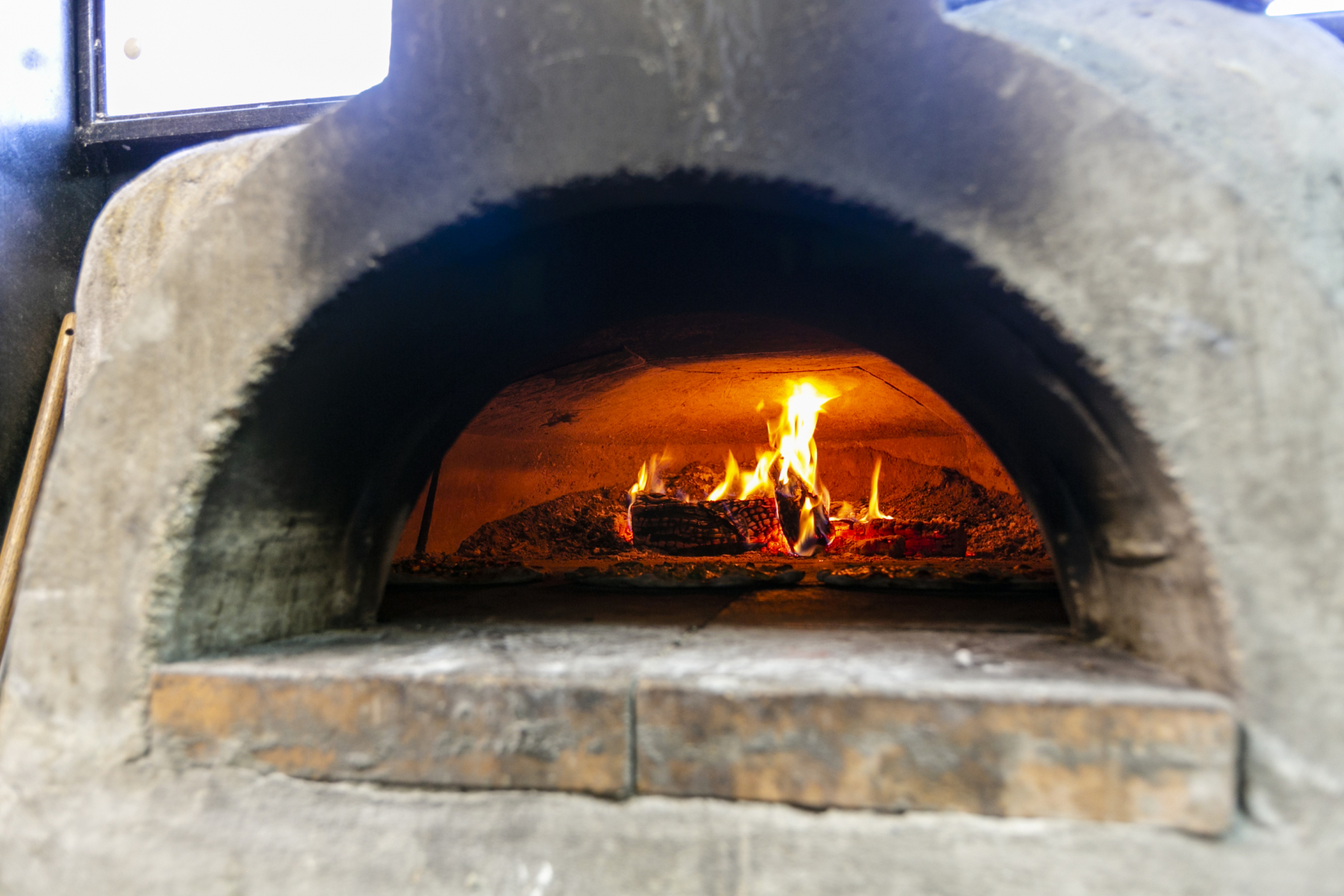 The MOD wood fired pizza oven